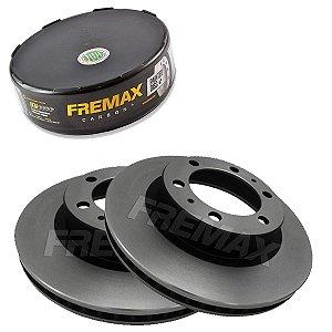 Par Disco Freio Dianteiro Hilux D4D Cd 2.5 16V  06-11 Fremax
