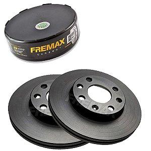 Par Disco Freio Dianteiro Monza 650 2.0 8V 91-96 Fremax