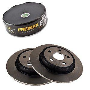 Par Disco Freio Traseiro Corolla Std 1.8 16V 08-12 Fremax