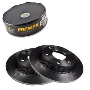 Par Disco Freio Traseiro Civic Lxl 1.8 16V One 12-14 Fremax