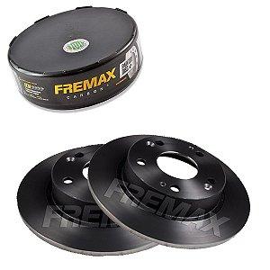 Par Disco Freio Traseiro Civic Lxs 1.8 16V One 13-16 Fremax