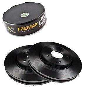 Par Disco Freio Dianteiro Crv Lx 2Wd 2.0 16V 08-12 Fremax