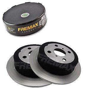 Par Disco Freio Traseiro Fielder  1.8 16V 05-08 Fremax