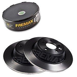 Par Disco Freio Traseiro Fusion Titanium 2.0 Ecoboost 13-16