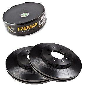 Par Disco Freio Dianteiro Civic Lxl 1.7 16V 01-06 Fremax