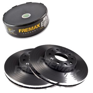 Par Disco Freio Dianteiro Golf Std 2.0 8V 09-12 Fremax