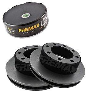 Par Disco Freio Dianteiro F250 Xl 4.2  06-08 Fremax