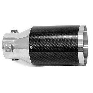 Ponteira Luzian P001 4 Pol. Aço Inox E Fibra De Carbono