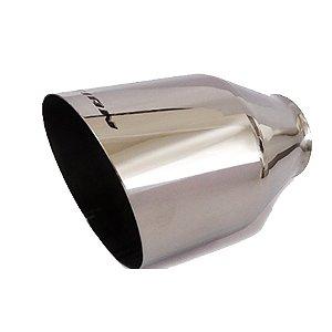 Ponteira Esportiva Saida 4,5 Pol Aço Inox Luzian P006 Tuning