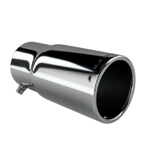 Ponteira Esportiva Saida 2,5 Pol Aço Inox Luzian P010 Tuning