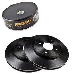 Par Disco Freio Dianteiro Versa S 1.6 16V 12-15 Fremax