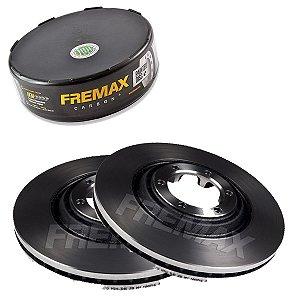 Par Disco Freio Dianteiro S10 Ls 4X2 2.4 8V power 12-15