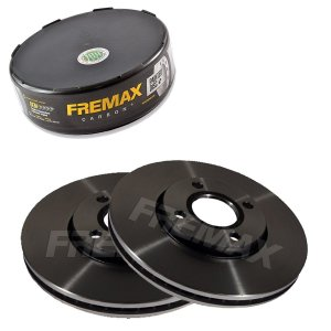 Par Disco Freio Dianteiro Ecosport Freestyle 2.0 16V 13-16