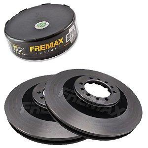 Par Disco Freio Dianteiro L200 Gls 2.5 8V 4D56  03-07 Fremax