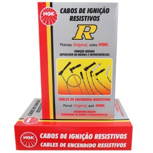 Cabo Ignição Original NGK Kangoo 1.6 8v (K7M) 98-08 Gasolina