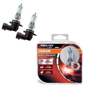Kit Lâmpada Alto/Baixo Night Breaker PT Cruiser 12-18 Osram