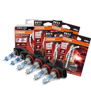 Kit Completo Lâmpada Night Breaker New Civic 12-14 Osram