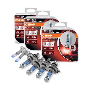 Kit Completo Lâmpada Night Breaker Renault Clio 94-03 Osram