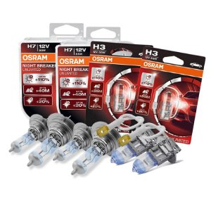 Kit Completo Lâmpada Night Breaker Passat 98-18 Osram