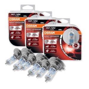 Kit Completo Lâmpada Night Breaker Audi A3 07-03 Osram