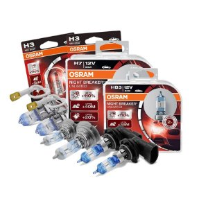 Kit Completo Lâmpada Night Breaker Zafira 12-18 Osram