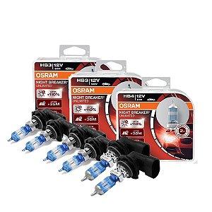 Kit Completo Lâmpada Night Breaker HB20 / HB20S 16-18 Osram