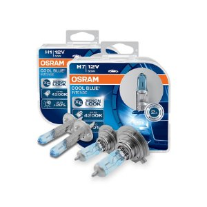Kit Lâmpada Alto/Baixo Cool Blue Citroen DS3 13-16 Osram