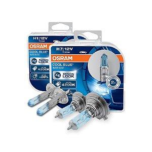 Kit Lâmpada Alto/Baixo Cool Blue Kia Carens 10-13 Osram