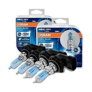 Kit Lâmpada Alto/Baixo Cool Blue Toyota Hilux 09-16 Osram