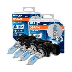 Kit Lâmpada Alto/Baixo Cool Blue Toyota Hilux 06-08 Osram