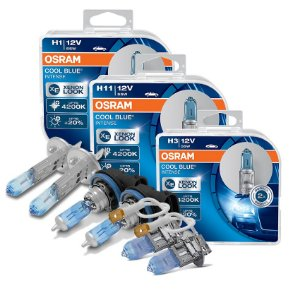 Kit Completo Lâmpada Cool BLue Ford Courier 96-99 Osram