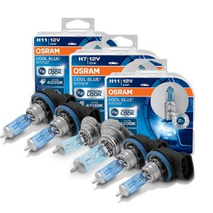 Kit Completo Lâmpada Cool BLue Ford Fusion 06-13 Osram