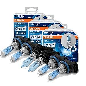 Kit Completo Lâmpada Cool BLue Mitsubishi Asx 11-13 Osram