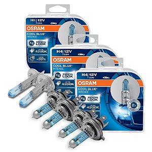 Kit Completo Lâmpada Cool BLue Fiat Premio 12-18 Osram