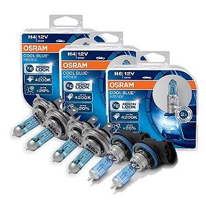 Kit Completo Lâmpada Cool BLue HB20 HB20S 12-15 Osram
