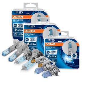 Kit Completo Lâmpada Cool BLue Polo Sedan 02-06 Osram