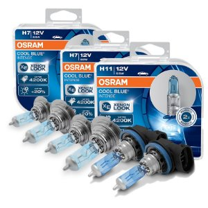 Kit Completo Lâmpada Cool BLue Audi Q 2.0 TF51 09-13 Osram