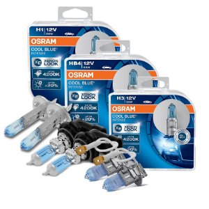 Kit Completo Lâmpada Cool BLue Vectra /  GT 06-08 Osram