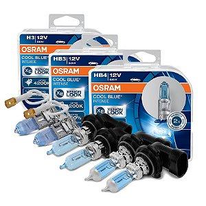 Kit Completo Lâmpada Cool BLue Silverado 00-13 Osram