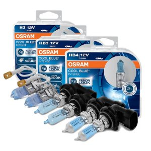 Kit Completo Lâmpada Cool BLue Golf Mexicano 92-98 Osram