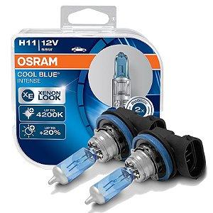 Lâmpada Farol de Milha Cool Blue Citroen C3 10-13 Osram