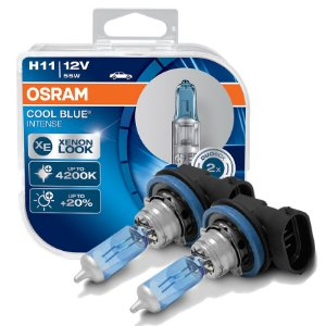 Lâmpada Farol de Milha Cool Blue BMW X5 03-18 Osram