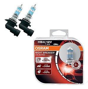 Lâmpada Farol de Milha Night Breaker Subaru XV 12-13 Osram