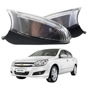 Par Pisca Retrovisor Vectra GT 2013-2014 Original Metagal