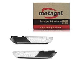 Par Pisca Retrovisor Toyota Hilux SW 2012-2015 Origi Metagal