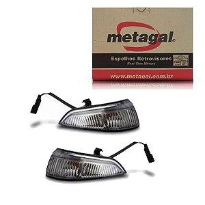 Par Pisca Retrovisor Ford Ka 2008-2014 Original Metagal
