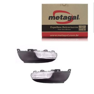 Par Pisca Retrovisor VW Tiguan 2010-2017 Original Metagal