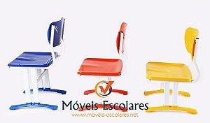 Cadeiras e Longarinas em Polipropileno Anatomica