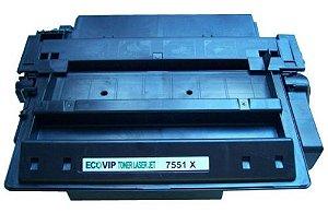 Toner Hp Q7551x Compatível Novo - Ecovip
