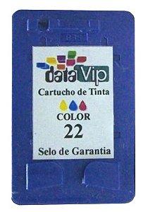 CARTUCHO DE TINTA HP 22 | C9352AB | COLOR Compativel Novo Datavip